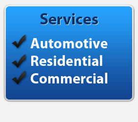 Automotive, Residential, and commercial locksmith